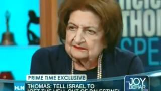 "HELEN THOMAS ""Obama Lacks Courage, He"