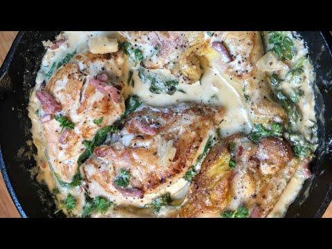 🍗-le-poulet-à-la-moutarde-🥘-mustard-chicken-recipe
