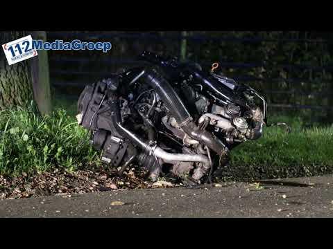 27 september 2018 Ernstig gewonde bij een eenzijdige aanrijding in Overberg