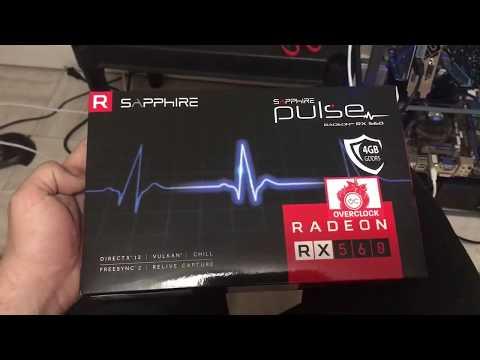 Sapphire RX 560 4gb mining march 2018