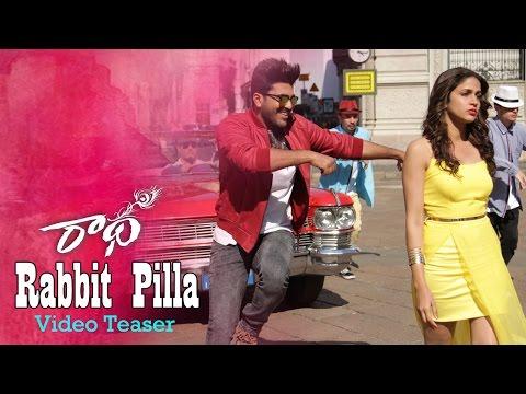 Rabbit Pilla Video Song Teaser | Radha | Sharwanand | LavanyaTripathi | Aksha