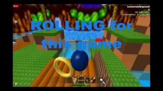 Sonic the Hedgehog AD on Roblox