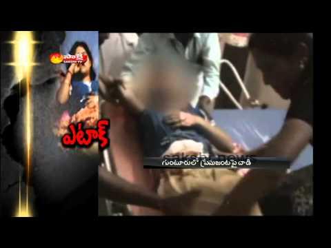 Unknown people attack Lovers in Guntur