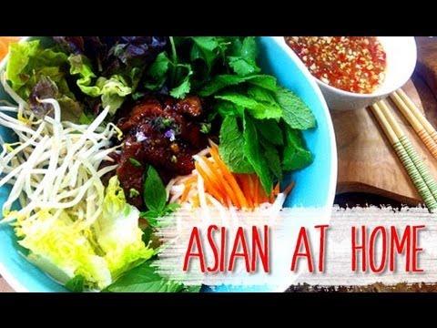 Vietnamese Noodle Salad w/Coconut Lemongrass BBQ Pork