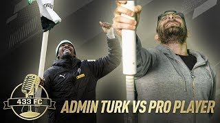 Admin Turk VS Pro Player ❗🥵   Corner Flag Challenge FEAT Marcus Thuram ⚽🤣