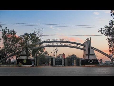 NIT Raipur Campus Tour 1