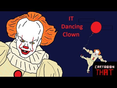 IT Pennywise Dancing scene ( a cartoon parody) Animation