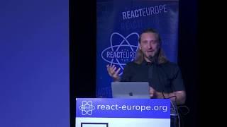 Coders are the new Rock Stars - Dan Stein aka @DJFreshUK at @ReactEurope 2019 Video