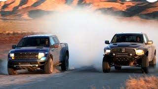 Ford Raptor vs Ram Runner! - Head 2 Head Episode 14