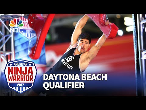 Kevin Carbone at the Daytona Beach Qualifiers - American Ninja Warrior 2017
