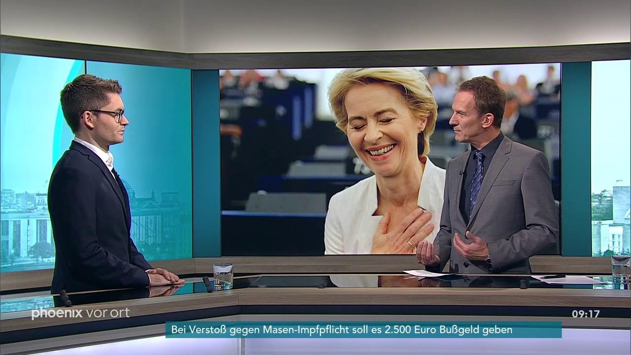 Download Robert Stüwe zur Wahl Ursula von der Leyens zur EU-Kommissionspräsidentin am 17.07.19