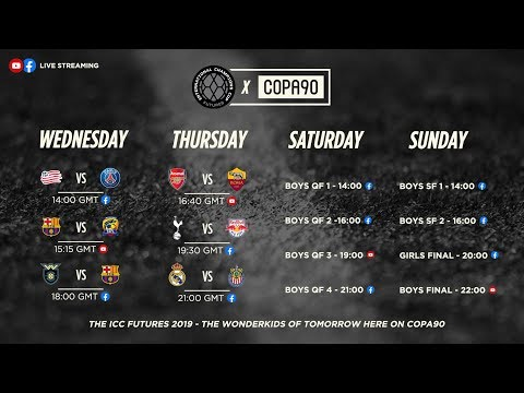 LIVE! ICC Midwest v FC Barcelona | ICC Futures
