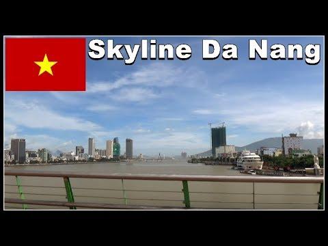 Đà Nẵng Skyscrapers / Skyline July 2017, Vietnam