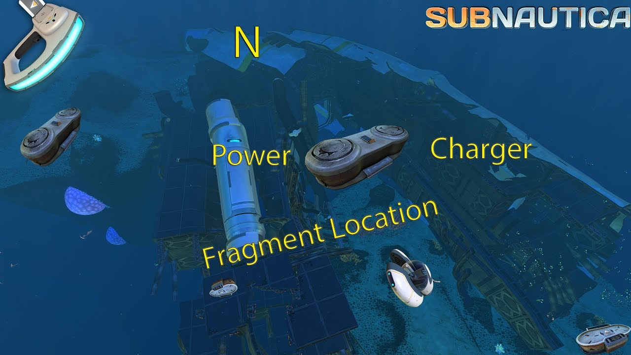 Full Game Power Cell Charger Fragment Location Subnautica Youtube