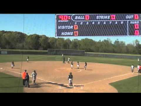 Softball:  Tyler vs Angelina College (Mar. 19, 2016 - Game 2)