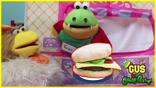 GIANT FOOD PRETEND PLAY TOYS! Let's have fun cooking and baking