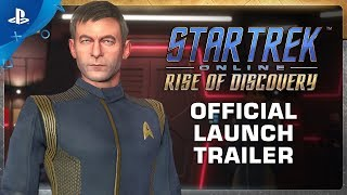 Star Trek Online Rise of Discovery - Launch Trailer PS4