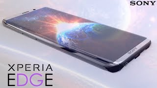 Sony Xperia EDGE | New Xperia Series First-Look - Galaxy Note 10 Killer