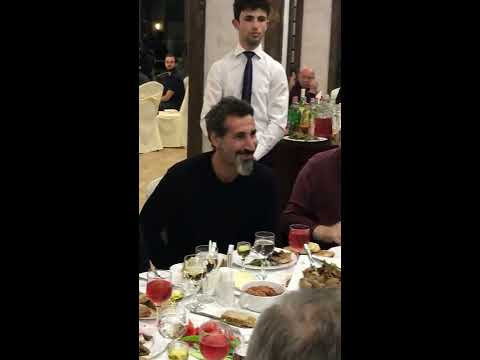 """Lonely Day"" for Serj Tankian in Shushi"