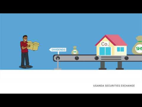 Uganda Securities Exchange Shares Explainer Animation