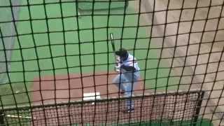 キューバの至宝 巨人 フレデリク・セペダの打撃練習