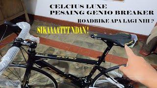 Spesifikasi sepeda roadbike aloy murah keren ( review ) lengkap sepeda balap Celcius Luxe