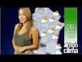 Pronóstico para el 09 de febrero de 2017. Argentina - Infoclima TV