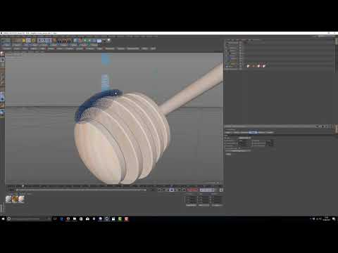 C4d realFlow Tutorial smooth surfaces