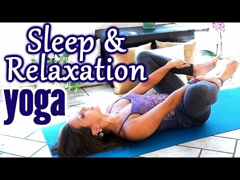 Beginners Yoga for Relaxation & Sleep, Flexibility Stretches for Stress, Anxiety & Pain Relief