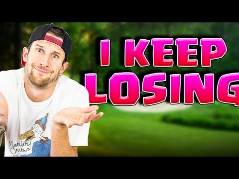 I CAN'T STOP LOSING!!