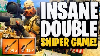 Best Sniper in FORTNITE? Duos w/ Nickeh30 250M SNIPES ONLY. My best sniper game!