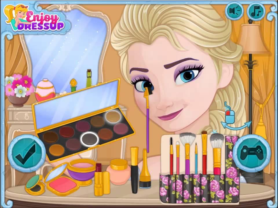 You Premium. You Premium. Disney Frozen Game Now And Then Elsa Makeup ...