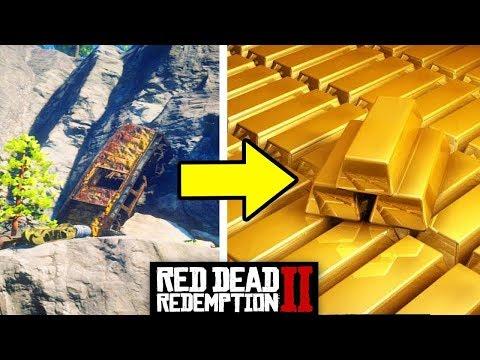 GDZIE ZNALEŚĆ POCIĄG ZE ZŁOTEM W RED DEAD REDEMPTION 2?! |XGAMING|