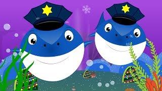 Police Shark vs Flying Shark | Videos for kids Songs