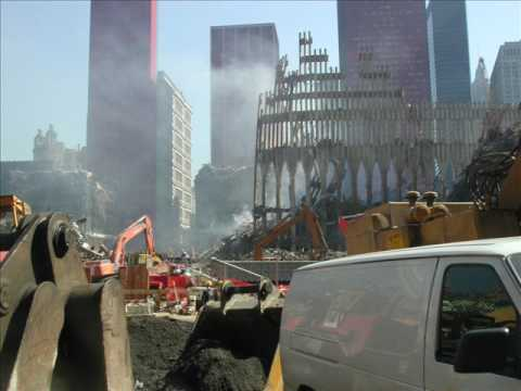 World Trade Center Disaster Site Damage 3 October 2001