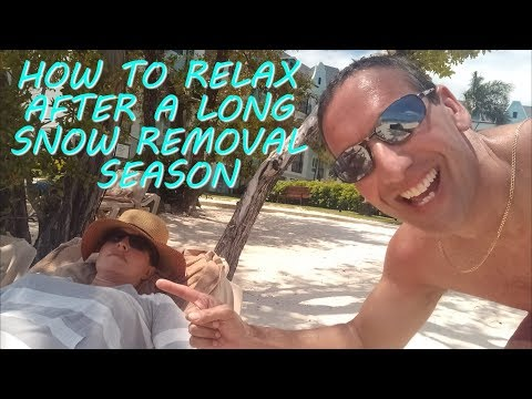 How To Relax After A Long Snow Removal Season | Sandals Southcoast Jamaica