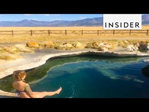 Hidden Hot Springs in Utah