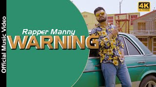 Warning (official video) manny bawa | sbr beatz|new punjabi songs 2020 latest .presenting by manny. pu...