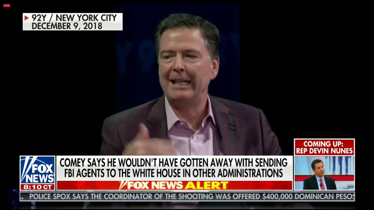 FOX News - Listen to Comey bragging about setting up General Flynn