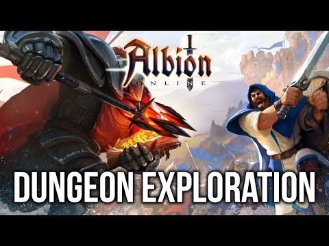 Albion Online: DUNGEON EXPLORATION! (Gameplay & Commentary)