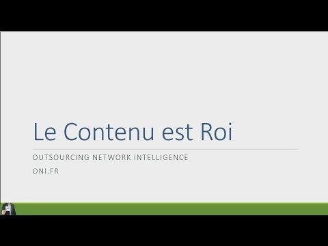 WEBMARKETING : LE CONTENU ROI