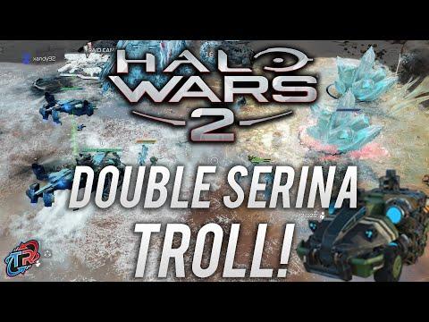 Hilarious Trolling as Double Serina! | Halo Wars 2