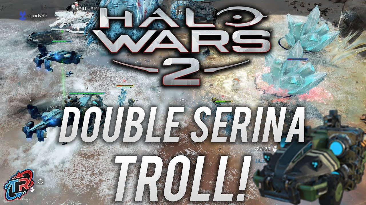 Hilarious Trolling as Double Serina! | Halo Wars 2 Multiplayer