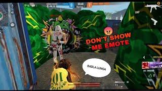 DON'T SHOW ME EMOTE 😡|| BADLA FREE FIRE ||