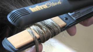 "Infrashine ClassicLine Flat Iron 1"" Dry Fingerwaves"