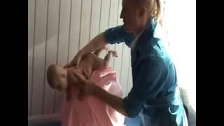 Детский массаж от 0 до 3 месяцев