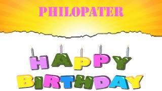 Philopater   Wishes & Mensajes - Happy Birthday