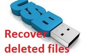recover deleted files from usb and sd card