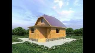 Проекты домов из бруса под ключ - СК Позитив(Более подробная информация на нашем сайте - http://www.les-53.ru/ На видео представлены проекты строительной компани..., 2013-10-07T09:05:29.000Z)