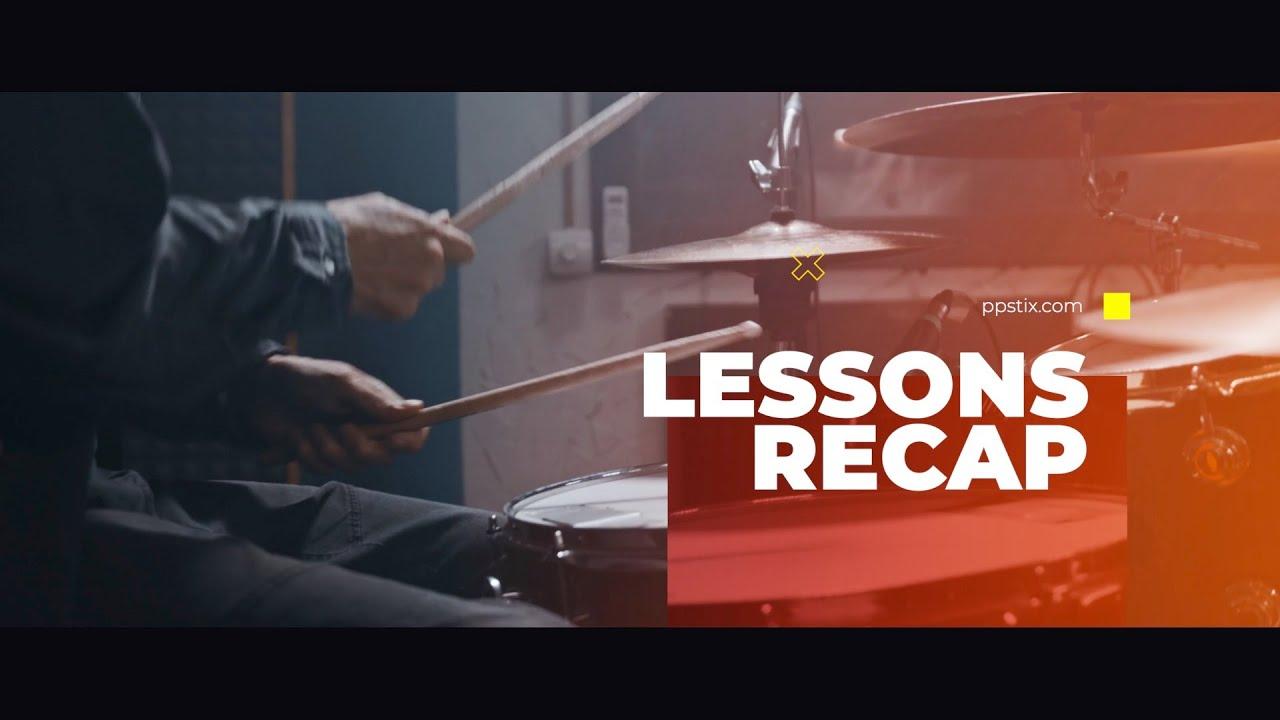 This Weeks Lesson Recap